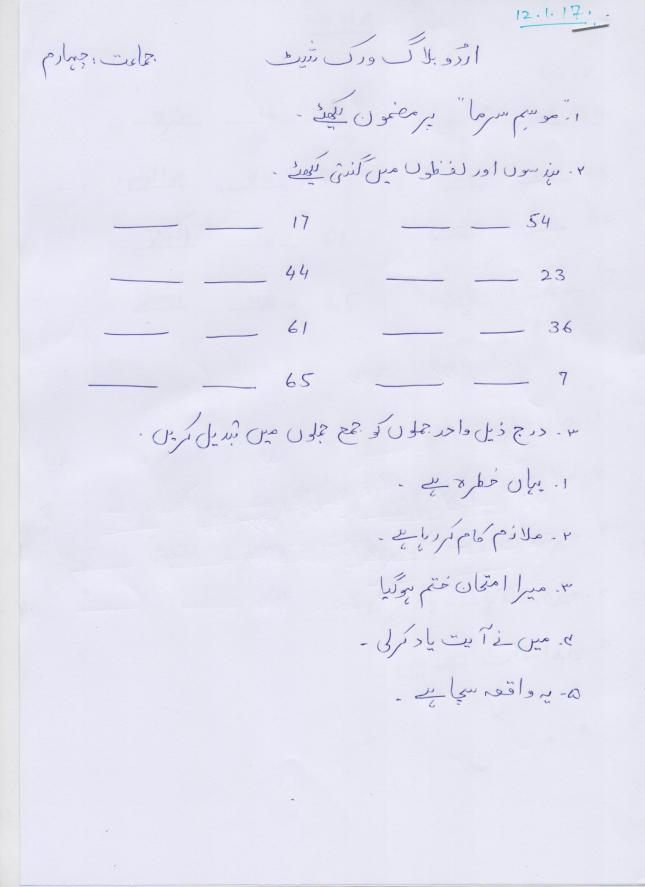 grade 12 english essay test