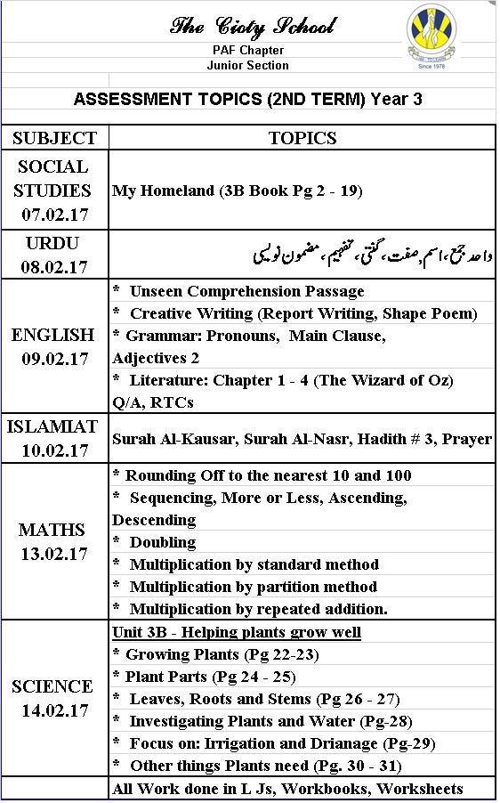 Printable Worksheets social studies worksheets grade 3 : PAF JUNIORS | I AM – TO LEARN