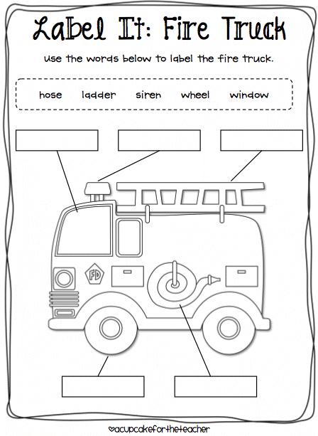 Fire Prevention Week Coloring Pages. Kids Coloring Page Fire ...